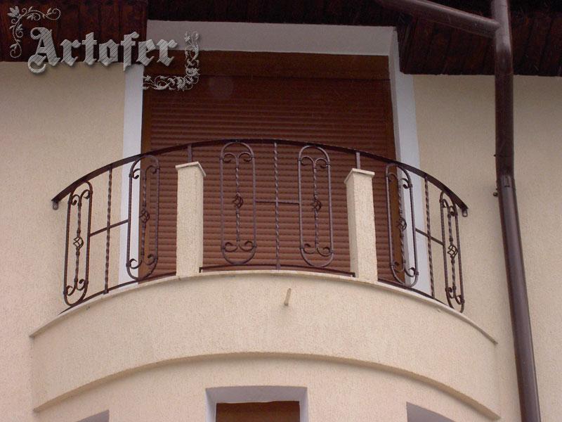 balustrada fier forjat